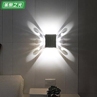 Butterfly Wandleuchte Led Einfache Moderne Hintergrund Wand Am Bett Zimmer  Wand Wohnzimmer Lampe Gang Dekoration Wein