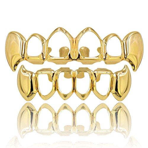 gold fang caps - 5