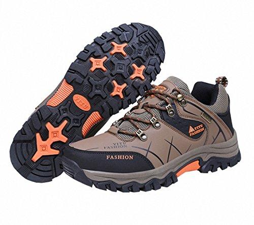 Ben Sports Zapatillas de senderismo Botas de senderismo Correr en montaña de Hombre,39-47 beige