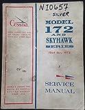 Cessna 172 Skyhawk Series Service Manual 1969-1973