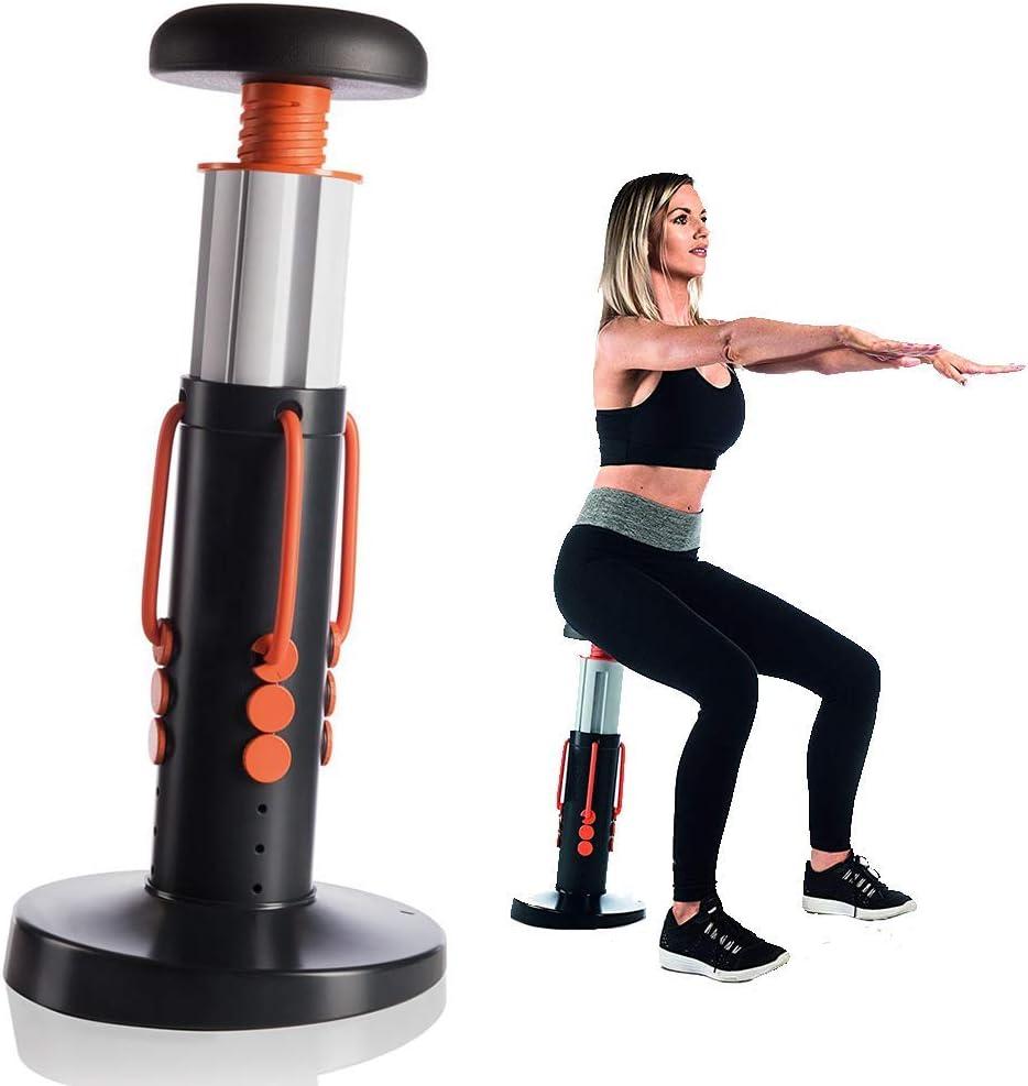 GFDDZ Squat Magic, Core Magic Trainer, Squat Assistant Unisex, Parte Inferior del Cuerpo y Core Workout, máquina de Ejercicios para Esculpir Abdominales, glúteos, piernas, Muslos y más