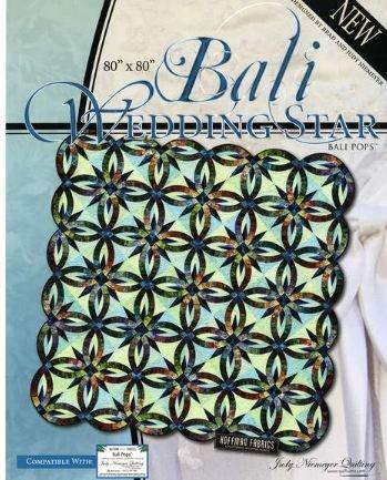(Quiltworx BCAC34102 Bali Wedding Star Pattern)