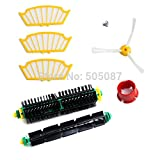 Replenishment Kit For iRobot Roomba 500 Series Red and Green Cleaning Heads