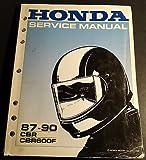 1987-1990 HONDA MOTORCYCLE CBR600F SERVICE MANUAL (615)