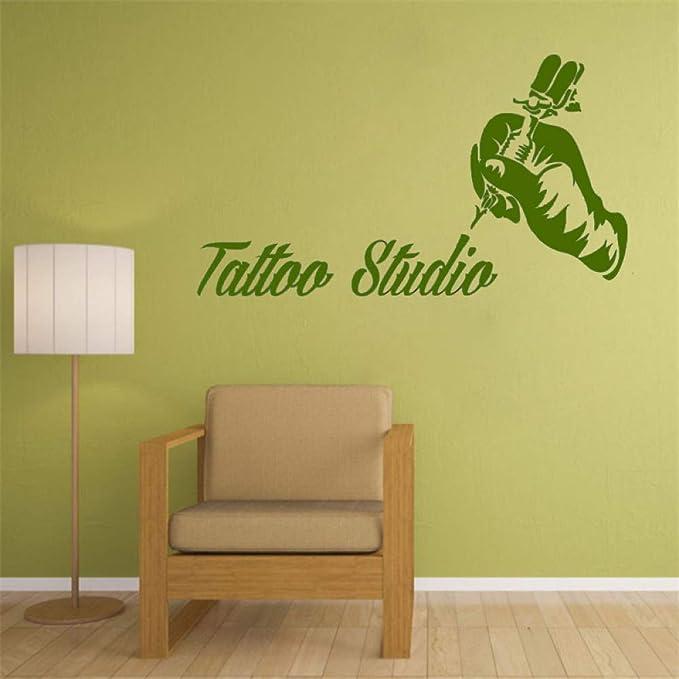 xingbuxin Tattoo Studio Vinilo Pegatinas de Pared Tattoo Salon ...
