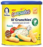 Gerber Graduates Lil' Crunchies, Ranch, 1.48 Ounce