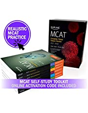 MCAT Self-Study Toolkit 2021-2022: Complete 7-Book Subject Review + 3 Practice Tests + Adaptive Qbank