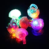 Led Gadgets - Light Up Wedding Rings Flashy Baby Toys Lumino Ring For Thing Bulk Toy Play Both Jewelry Led Jelly 72 - Led Color Change Flashing Jelly Soft Ring Wedding Halloween Party - - 1pcs
