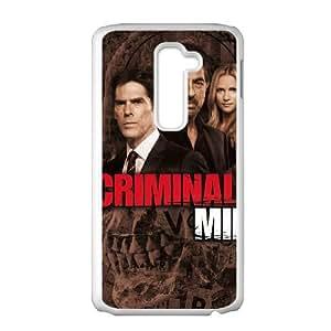 LG G2 Phone Case White Criminal Minds V8961350
