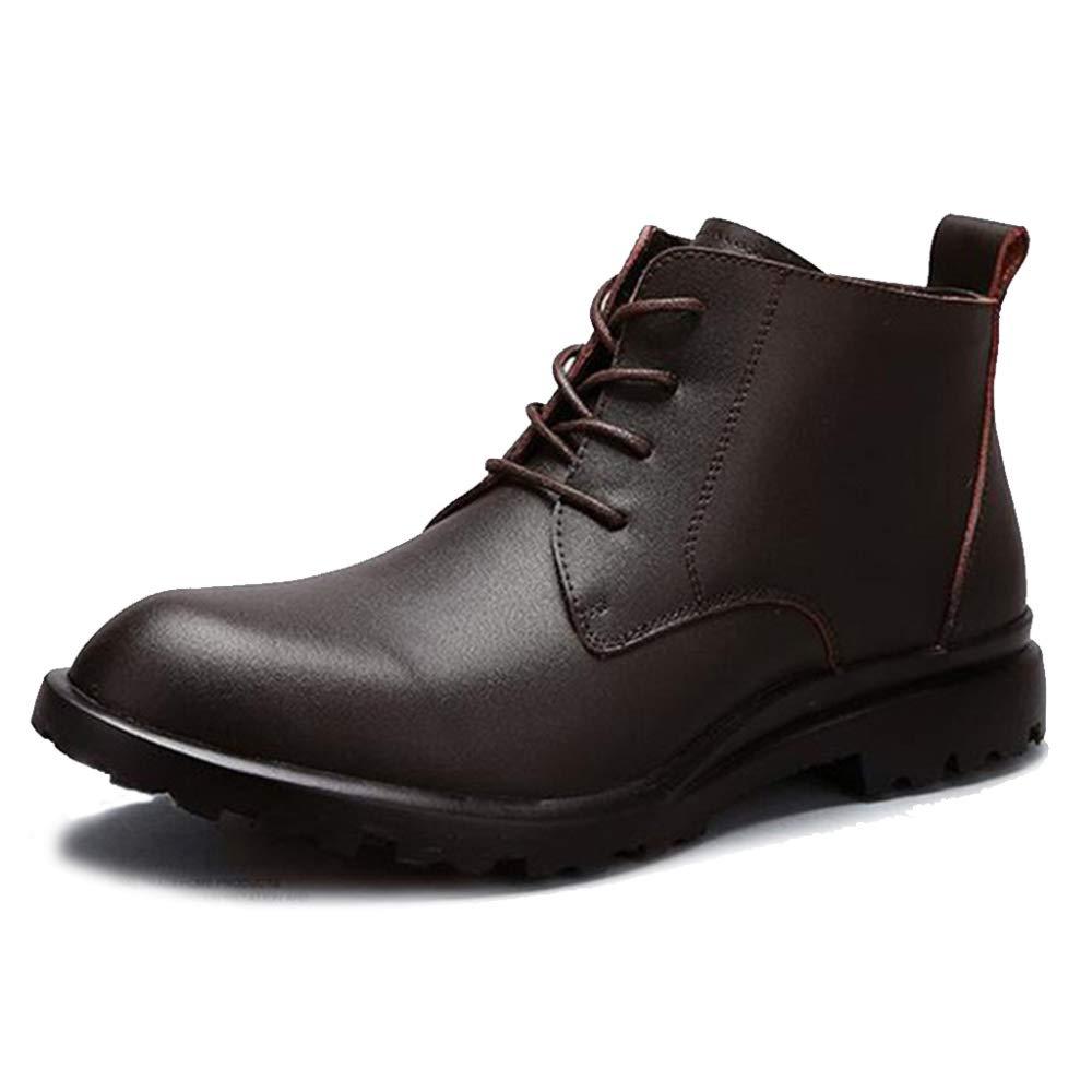 Herren Martin Stiefel Leder Stiefel Hohe Schuhe Mit Freizeitschuhen Loafers Schuhe Offizielle Business Stiefel Outdoor Wanderschuhe Reitschuhe