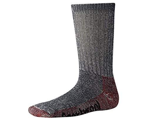 Smartwool Kids' Hike Light Crew Socks (Light Gray) Large - Kid Merino Yarn