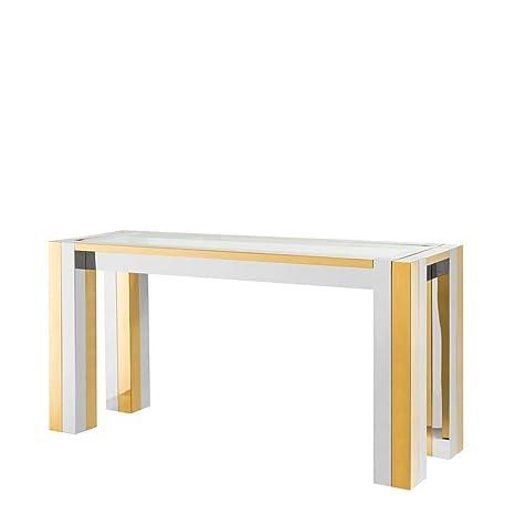 Amazon.com: Mesa de consola dorada | EICHHOLTZ Titan ...