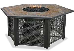 Endless Summer, GAD1374SP, LP Gas Outdoor Firebowl with Slate Tile Mantel