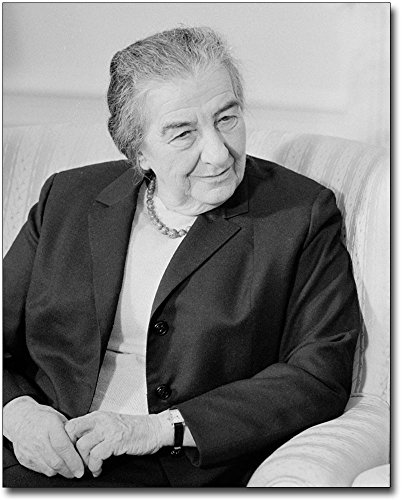 Golda Meir Prime Minister Israel Portrait 11x14 Silver Halide Photo Print by The McMahan Photo Art Gallery & Archive
