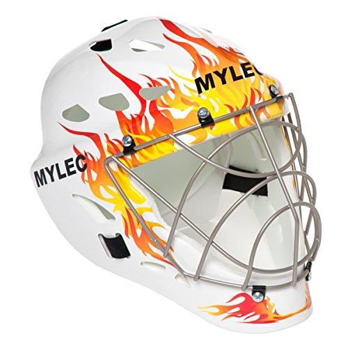 Mylec Ultra Pro II Goalie Mask (Flame)