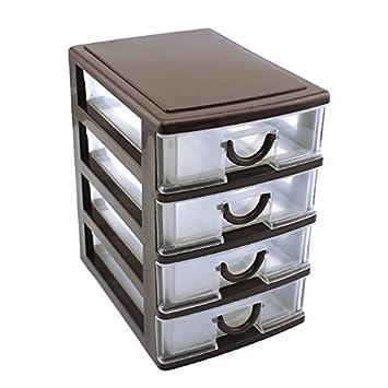 Cassettiere In Plastica Per Ufficio.Hrph Cassettiera Di Plastica Durevole Per Tavolo Da Ufficio