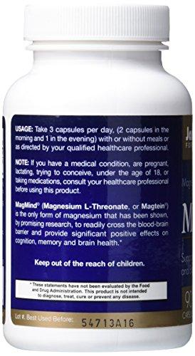 Jarrow Formulas Magmind, Supports Cognition, 90 Caps