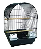 YML A5604 Bar Spacing Round Top Cage, Black, 14 x 16''
