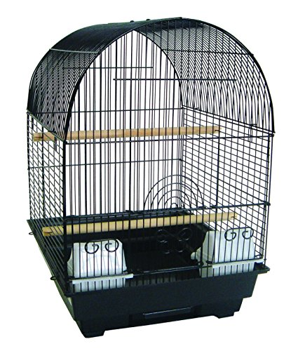 YML A5604 Bar Spacing Round Top Cage, Black, 14 x 16'' by YML