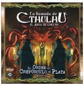 LA LLAMADA DE CTHULHU LCG - LA ORDEN DEL CREPUSCULO DE PLATA: Amazon.es: Juguetes y juegos