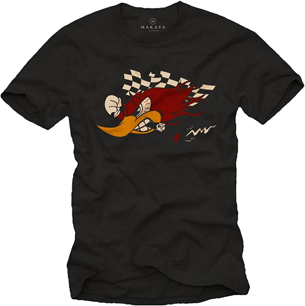 Tuning Voiture Moto Auto Scooter Racing T-Shirt Homme