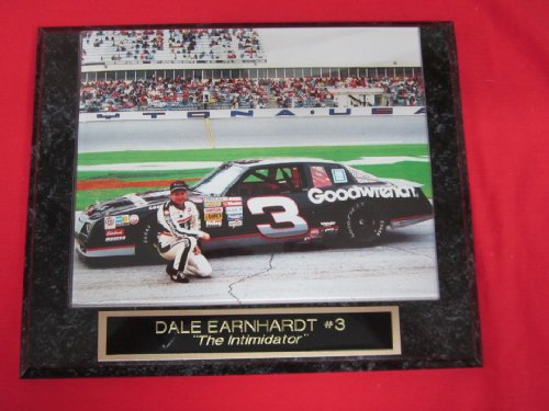 Dale Earnhardt Sr #3 THE INTIMIDATOR Collector Plaque #2 w/8x10 (Dale Earnhardt Photo)