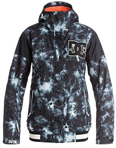 DC Junior's DCLA Classic Varsity Regular Fit Snow Jacket, Tie Dye, S -