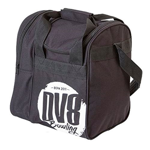 DV8 Tactic Single Bowling Bag, Tote Black
