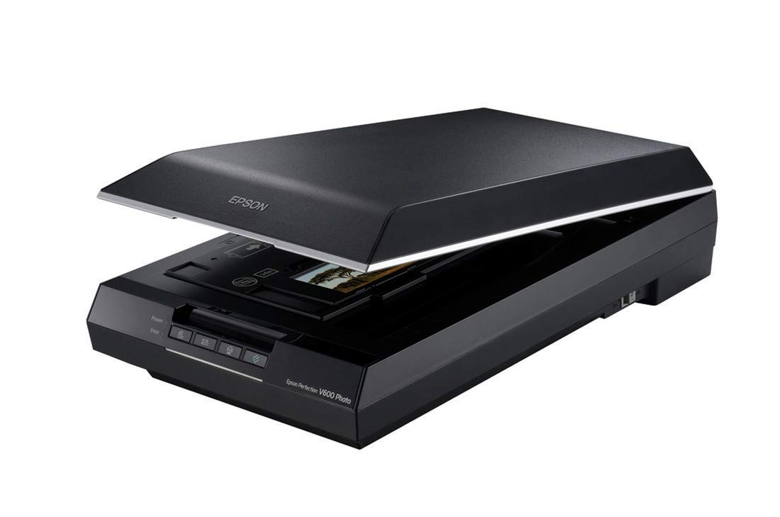 Epson Perfection V600 Color Photo, Image, Film, Negative & Document Scanner - Corded (Renewed) by Epson