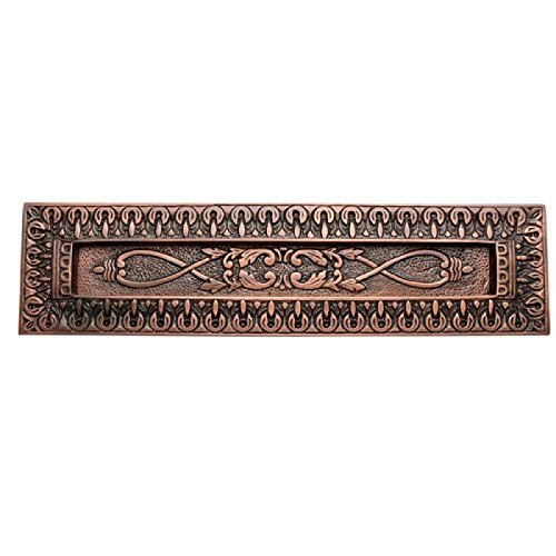 Adonai Hardware Decorative Brass Letter Plate ()