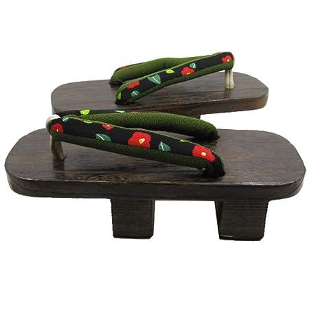 zapatos de madera japoneses