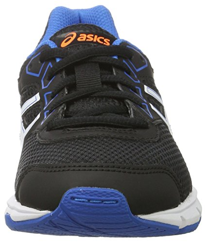 Asics Gel-Galaxy 9 Gs, Zapatillas de Deporte Unisex Niños Negro (Black/white/electric Blue)