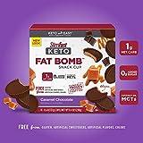 SlimFast Keto Fat Bomb Snack Cups - Caramel Cup