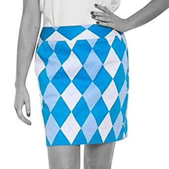 Royal & Awesome Womens Golf Skort: Old Tom's Trews - Size 8