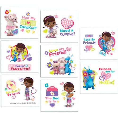 Tattoo Favors | Disney Doc McStuffins Collection | Party Accessory