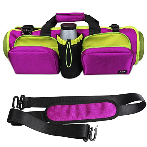 BUBM Elegant Multifunctional Waterproof Yoga Mat Bags/Yoga Bag/Travel Bag-Purple