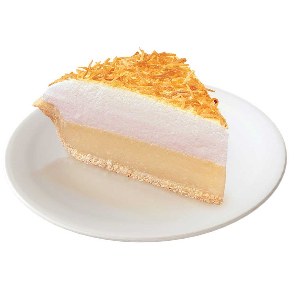 Sara Lee Chef Pierre Coconut Traditional Meringue Pie, 10 inch - 6 per case.