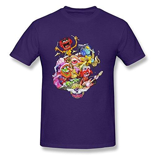 RIDA Electric Mayhem Muppet T-shirts For Men X-Large Purple