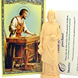 Saint Joseph Statue Home Seller Kit with Prayer Card and Instructions