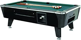 product image for Dynamo Coin Operated Pool Table - Black - 8'