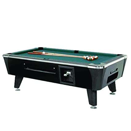 Amazoncom ValleyDynamo Dynamo Black Sedona Coin Operated Pool - Valley coin operated pool table