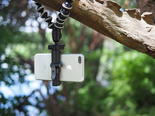 Glif - Quick Release Tripod Mount For Smartphones (Apple iPhone, Samsung Galaxy, Google Pixel, etc). Universal, fits all devices, portrait or landscape. by Studio Neat (Image #6)