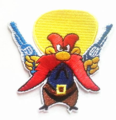 Looney Tunes Yosemite Sam Yellow Hat 2 3/4