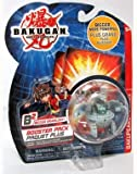 : Bakugan Bakupearl Series 2 B2 Booster Pack Bigger Brawlers Grey Blade Tigrerra