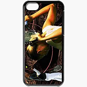 Personalized iPhone 5C Cell phone Case/Cover Skin 15254 Maria Sharapowa II byworld Black