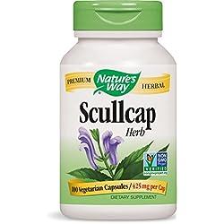 Nature's Way Scullcap Herb, 425 mg, 100 Capsule