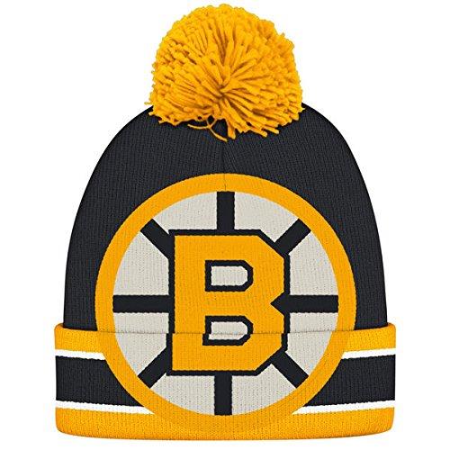 Boston Bruins Oversized Logo Cuffed Knit Hat CCM