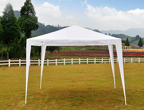 GOJOOASIS Wedding Party Tent Canopy 10×10 Outdoor Gazebo White