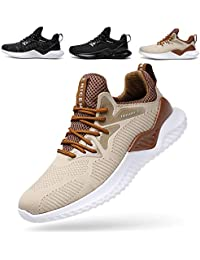 Men's Sneakers Lightweight Breathable Mesh Gym Athletic Casual Walking Jogger Shoes Slip On Outdoor Sport Shoes...