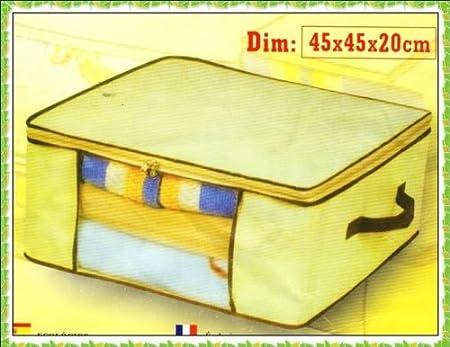 Color caja de almacenaje organizador 45 x 20 cm: Amazon.es: Hogar